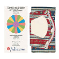 Sit n' Sew Laundry Time Dresden Plate Kit 1 Multi
