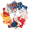 Windham Fresh Catch Whistler Studios Fat Quarters Multi 12 pcs.
