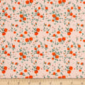 Heather Ross Mousies Floral Peach