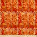 Paintbrush Studio Fabrics Croatia Spanish Tile Burnt Orange