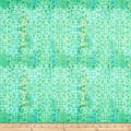 Paintbrush Studio Fabrics Croatia Spanish Tile Green