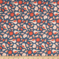 Paintbrush Studio Fabrics Gulls Just Wanna Have Fun Seashells Colonial Blue Crimson