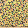 Paintbrush Studio Fabrics Ubuntu Lily Safari Yellow/Orange