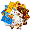 Riley Blake CAT Buildin' Crew Fat Quarter Bundle, 12 Pcs.