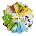 Tarzanimals Fat Quarter Bundle, 15 Pcs.