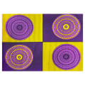 Shawn Pahwa African Print Senzangakona Yellow/Purple