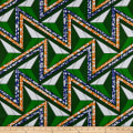 Shawn Pahwa African Print Azisa Green/Orange