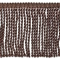 "Riley 5 3/4"" Bullion Fringe Trim Chocolate"