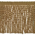 "Riley 5 3/4"" Bullion Fringe Trim Brown"