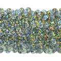 "5 Row 1 3/4"" Starlight Hologram Stretch Sequin Trim Silver"