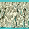 "Karuna 6"" Bullion Fringe Trim Ivory (Precut, 10 Yards)"