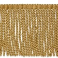 "Karuna 6"" Bullion Fringe Trim Gold (Precut, 10 Yards)"