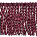 "Karuna 6"" Bullion Fringe Trim Wine (Precut, 10 Yards)"