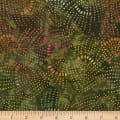 "Timeless Treasures 106"" Batik Wide Back Jewel Posey"
