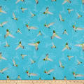 Northcott Island Sun Hummingbirds Aqua/Multi