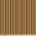 Northcott Farm To Table Barcode Stripe White/Multi
