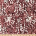 Northcott Banyan Batik Country Retreat Redwood Brick