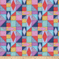 Northcott Mothers & Daughters Quilting Blocks Navy