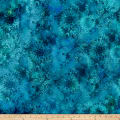 In The Beginning Fabrics Diaphanous By Jason Yenter Mystic Lace Teal