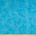 Island Batik Fur-ocious Friends Snake Skin Aquamarine
