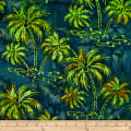 Batik by Mirah Bonanza Palm Trees Malaya Green