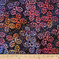 Batik by Mirah Flamenco Abstract Prints Grape Blue