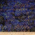Batik by Mirah Coast to Coast Crosshatches Oxan Blue