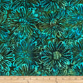 Batik by Mirah Coast to Coast Florals Bloom Green