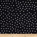 Batik by Mirah Night Cruise Small Dots Black White