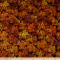 Kaufman Artisan Batiks Cornucopia 10 Maple Leaves Ember