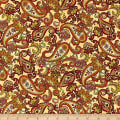 Henry Glass Autumn Time Paisley Butter