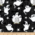 Henry Glass Glow In The Dark Ghostly Glow Town Ghosts Black