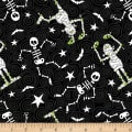 Henry Glass Glow In The Dark Ghostly Glow Town Skeletons & Mummies Black