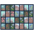 "P&B Textiles Alaska's National Parks 24"" Panel Flowers Rectangle Multi"