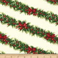 Michael Miller Happy Holly-Days Holly-Day Garland Winter