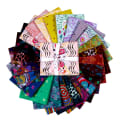 FreeSpirit Tambourine -24 pc Fat Quarter