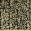 Island Batik Soul Song Circles Black
