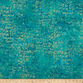 Island Batik Soul Song Speak Aquamarine