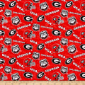 NCAA- Georgia 1178 Tone on Tone Red/Black/White