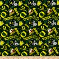 NCAA- Oregon 1178 Tone on Tone Green/White/Yellow