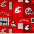 NCAA Washington State Patch Fleece
