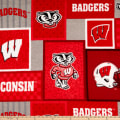 NCAA-Wisconsin 1177 Patch Fleece