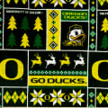 NCAA-Oregon 1182 Ugly Sweater Fleece
