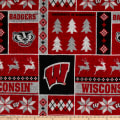 NCAA-Wisconsin 1182 Ugly Sweater Fleece