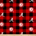 NCAA-Alabama 1190 Buffalo Plaid Fleece