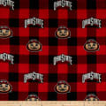 NCAA-Ohio State 1190 Buffalo Plaid Fleece