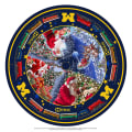 NCAA Michigan Wolverines Christmas Tree Skirt