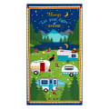 "Wilmington Gone Glamping! Large 24"" Panel Multi"