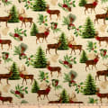 Wilmington Festive Forest Large Allover Tan