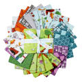 Dragons Fat Quarter Bundle, 22 Pcs.